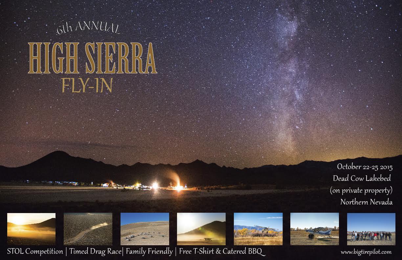 High Sierra Fly-in Poster