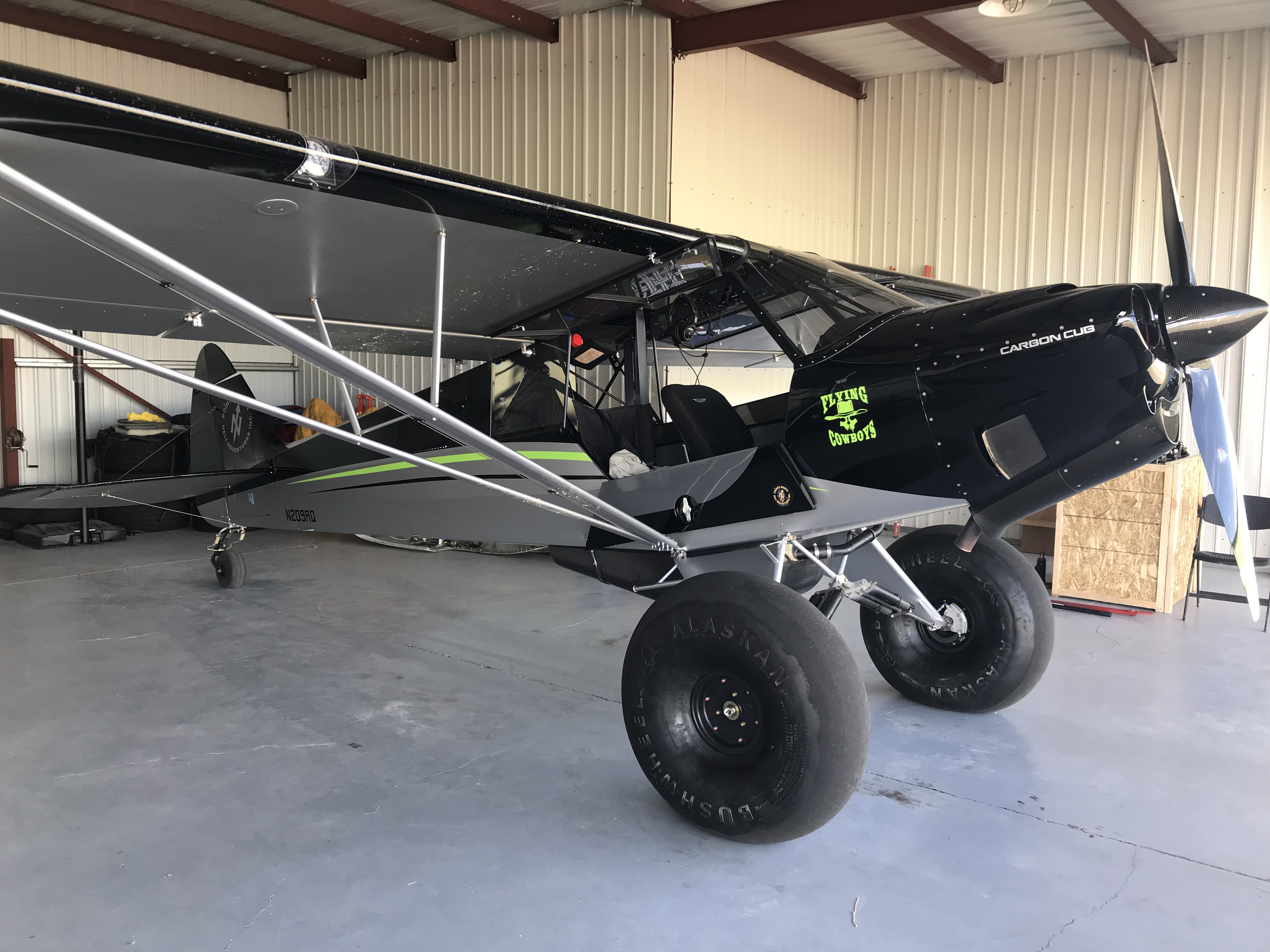 The Planes: 1953 Cessna 180, 2016 Backcountry Super Cub, 2018 Carbon